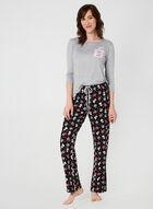 Pillow Talk - Pyjama deux pièces à motif café, Gris, hi-res