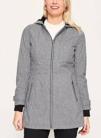 Softshell Fleece Lined Coat, , hi-res