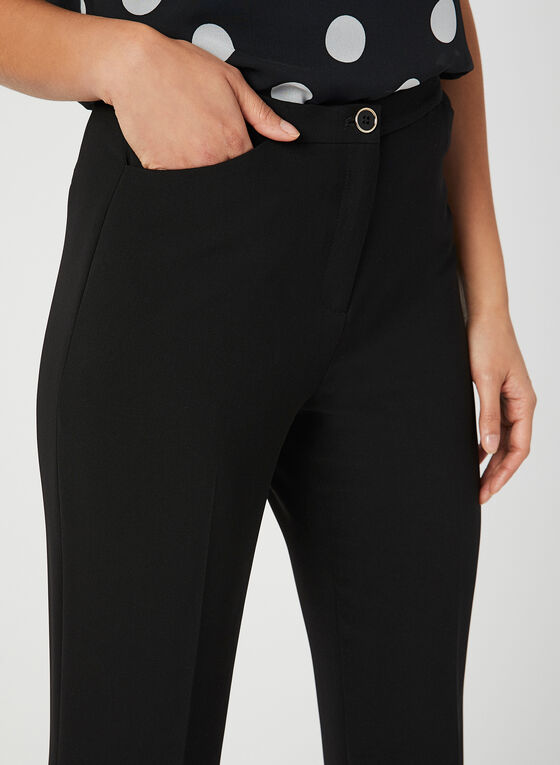 Signature Fit Straight Leg Pants, Black, hi-res