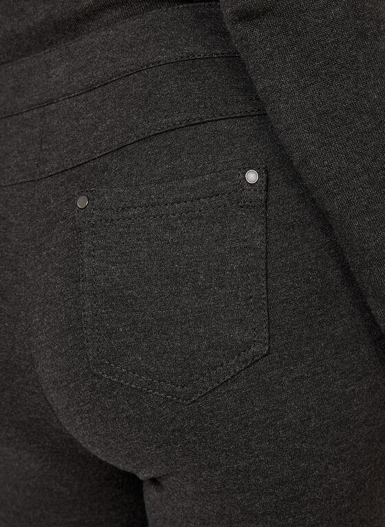 Pantalon coupe moderne à jambe étroite, Gris, hi-res