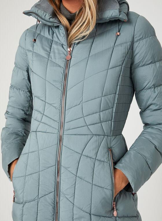 Bernardo - PrimaLoft® Thermoplume Packable Coat, Blue, hi-res