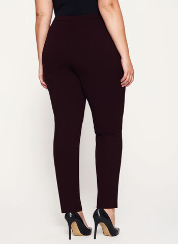 Signature Fit Slim Leg Pants, Purple, hi-res