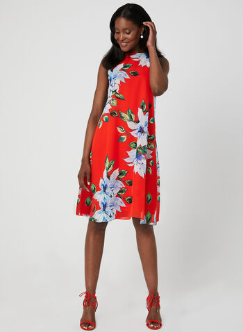 31b1cbb2f4bf Jessica Howard – Floral Print Chiffon Dress
