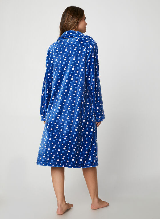 Karmilla Lingerie - Button Down Robe, Blue