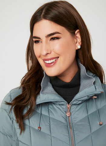 Bernardo - PrimaLoft® Packable Coat, Blue, hi-res