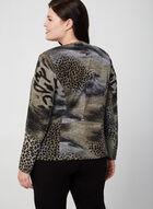 Vex - Haut ouvert à motif léopard, Brun