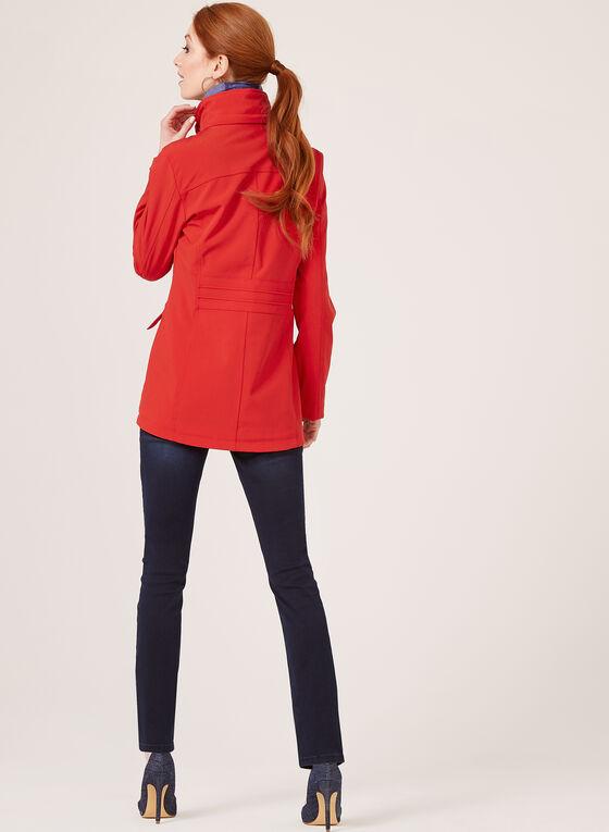 Chillax - Manteau de pluie à capuchon amovible , Rouge, hi-res