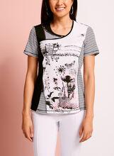 T-shirt à multiples imprimés, , hi-res