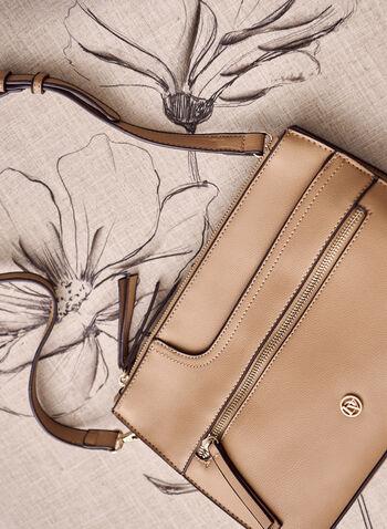 Cross Body Hand Bag, Off White,  spring summer 2021, handbag, pockets, removable strap, logo, zipper, rectangular shape