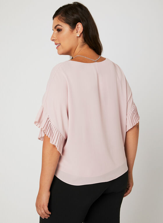 Frank Lyman - Angel Sleeve Blouse, Pink, hi-res
