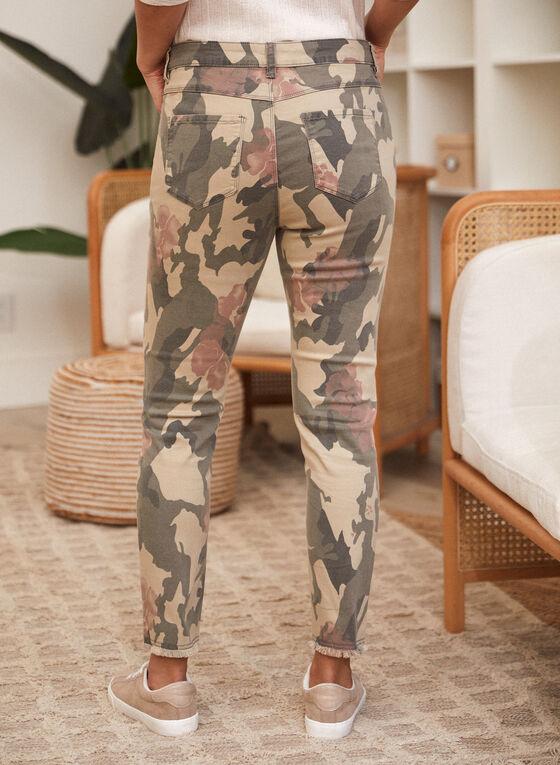 Charlie B - Printed Slim Leg Pants, Multi