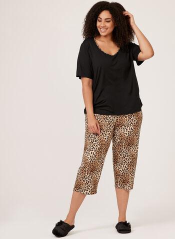 Hamilton - Leopard Print Pajama, Black, hi-res