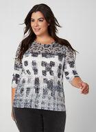 Animal Print T-Shirt, Black, hi-res