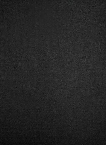 Foulard pashmina uni, Noir, hi-res,  foulard, pashmina, uni, automne hiver 2019