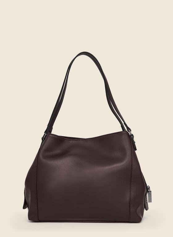 Stud Detail Tote Bag, Red