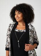 Jersey Pantsuit, Black, hi-res