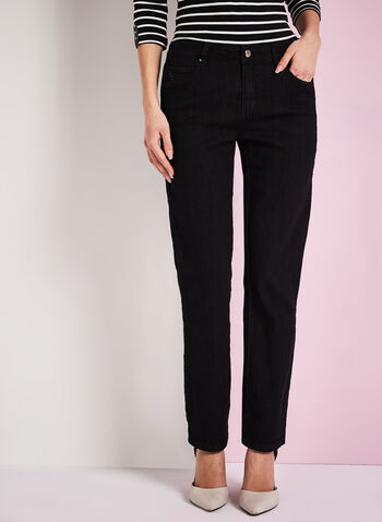 Simon Chang Straight Leg Denim Pants, , hi-res