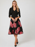 Shired Sleeve Bolero, Black, hi-res