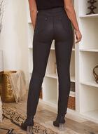 Slim Leg Jeans, Black