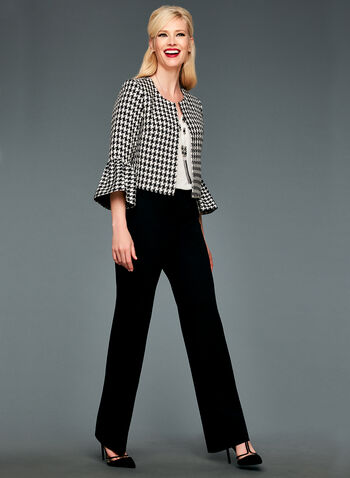 Modern Fit Wide Leg Pants, , hi-res