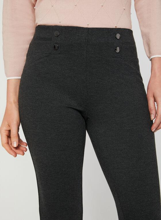 City Fit Slim Leg Pants, Grey, hi-res
