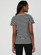 Flutter Sleeve T-Shirt, Black, hi-res