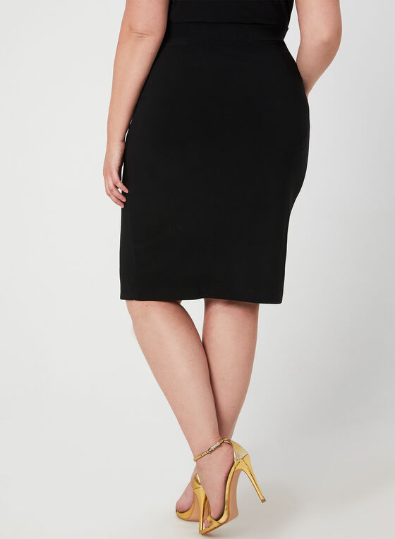 Joseph Ribkoff - Midi Pencil Skirt, Black