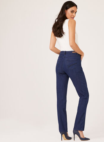 Simon Chang - Straight Leg Denim, Blue, hi-res