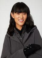 Anne Klein - Hooded Coat, Grey