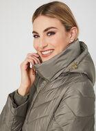 Anne Klein - Quilted Coat, Brown, hi-res