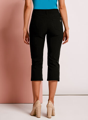 Simon Chang - Capri Pants, Black, hi-res