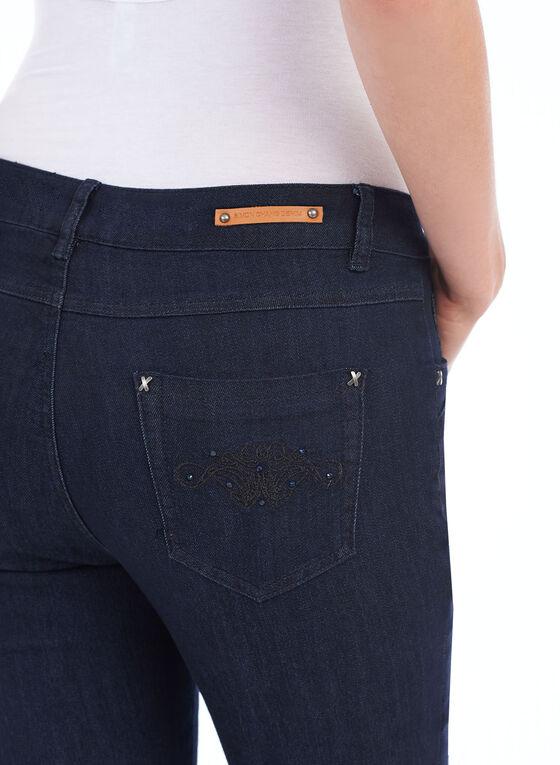 Simon Chang Tummy Control Jeans, Blue, hi-res