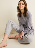 Claudel Lingerie - Three-Piece Sleepwear Set, Grey