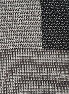 Pleated Square Neckerchief, Black