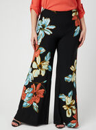 Joseph Ribkoff - Modern Fit Wide Leg Pants, Black, hi-res