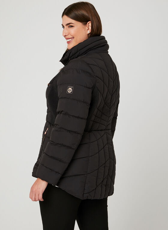 Bernardo - PrimaLoft® Packable Coat, Black, hi-res
