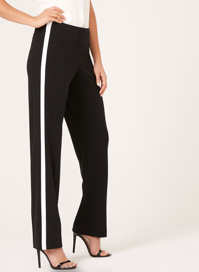 Modern Fit Wide Leg Pants