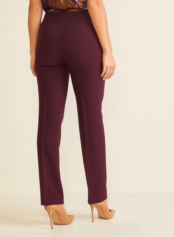 Modern Fit Straight Leg Pants, Purple