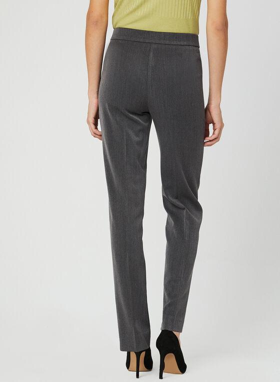 Mode de Vie - Signature Fit Straight Leg Pants, Grey