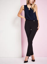 Pantalon pull-on en tricot point de Rome, , hi-res