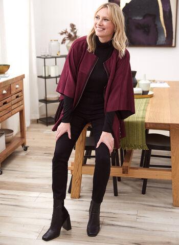 Basic Mock Neck Top, Black,  fall winter 2020, top, basic, mock neck, long sleeves