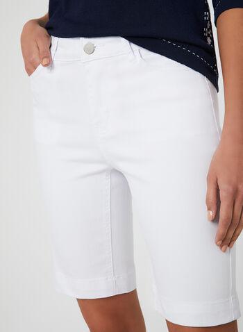 Alison Sheri - Bermuda Shorts, White, hi-res,
