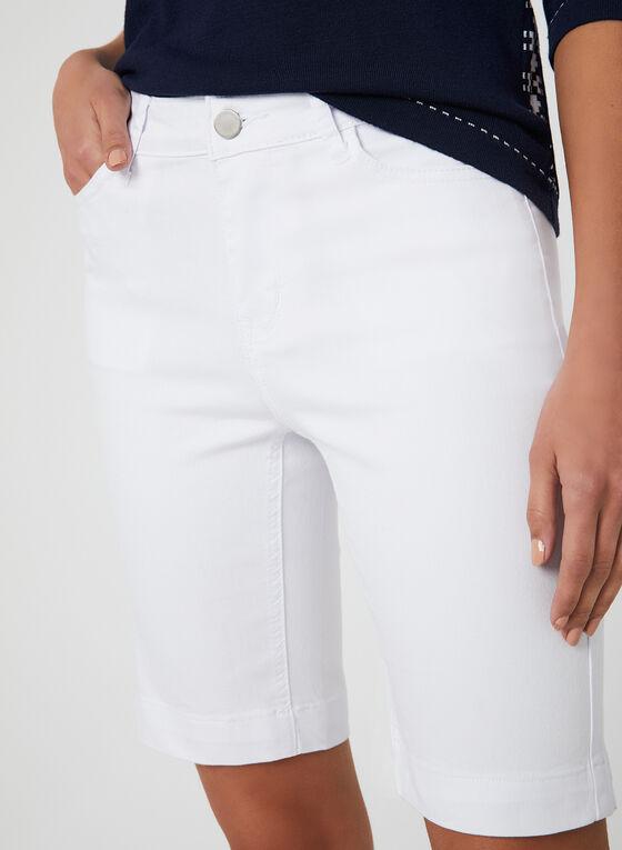 Alison Sheri - Bermuda 5 poches, Blanc