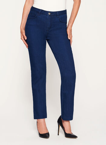 Simon Chang - Signature Fit Straight Leg Jeans, , hi-res