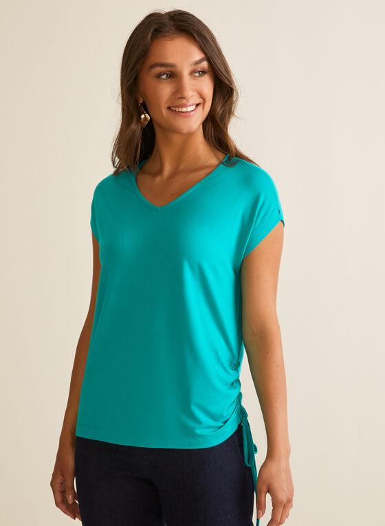 Tie Detail T-Shirt, Green