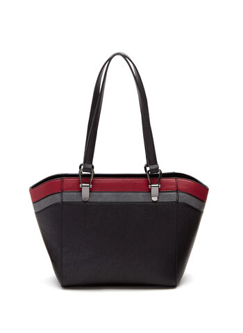 Contrast Stripe Tote Bag, , hi-res