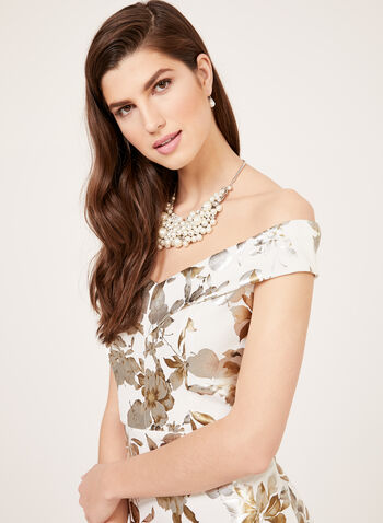 ECI New York – Off The Shoulder Dress, White, hi-res