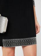 Embellished Jersey Dress, Black, hi-res