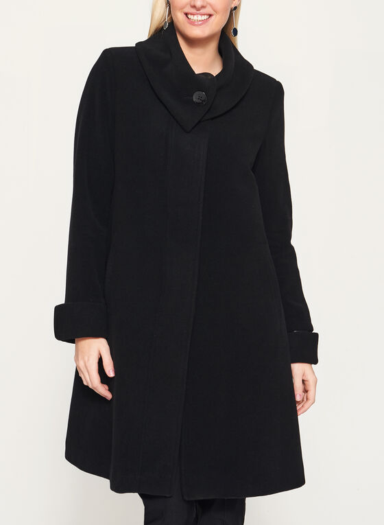 save off f4b92 577c3 Cashmere Blend A-Line Coat | Laura