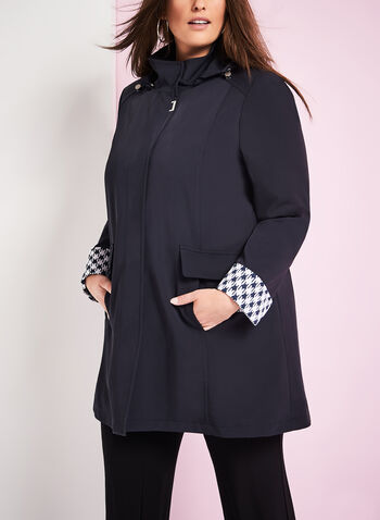 Novelti Detatchable Hood Coat, , hi-res